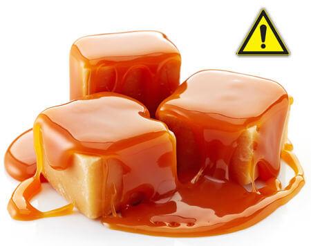 le caramel : le piège